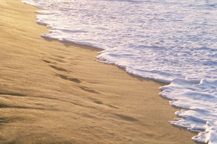 una manciata di sabbia