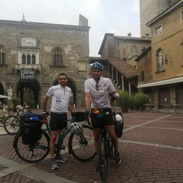 in bici per l'italia percorso tappe