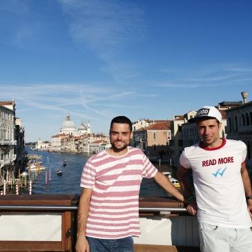 in bici per l'italia venezia