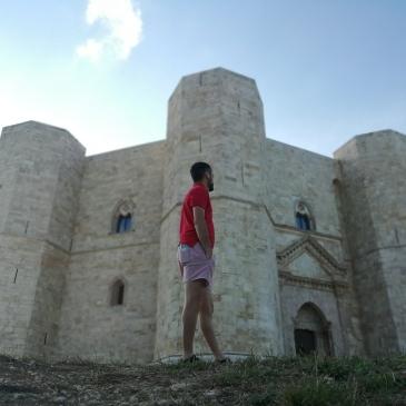 in bici per l'italia castel del monte