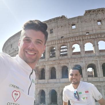 in bici per l'italia roma