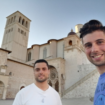 in bici per l'italia assisi